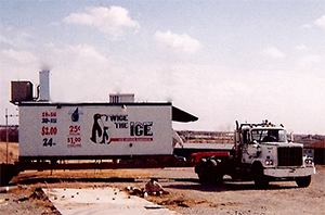 ice machine on a truck